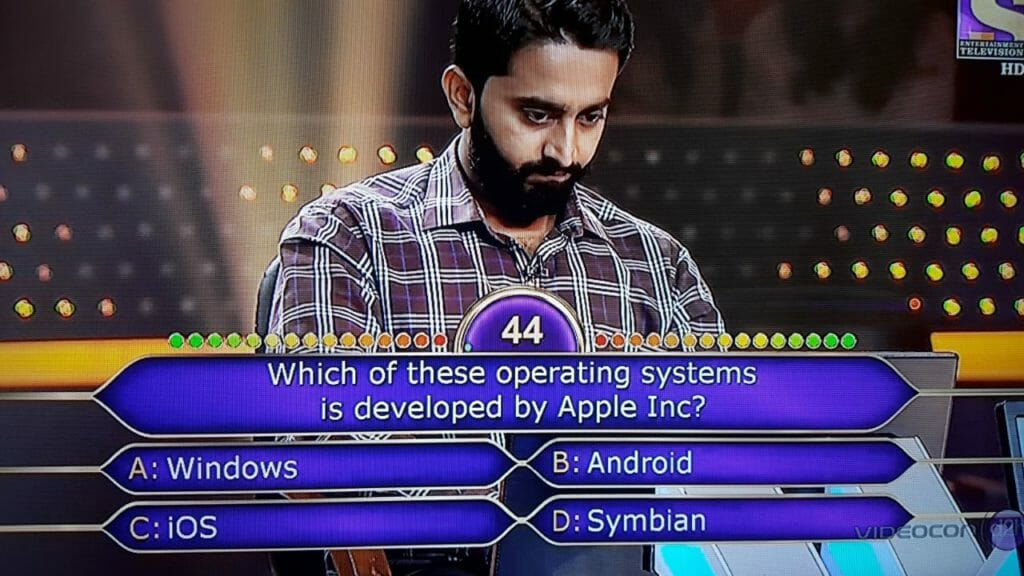 KBC question 3