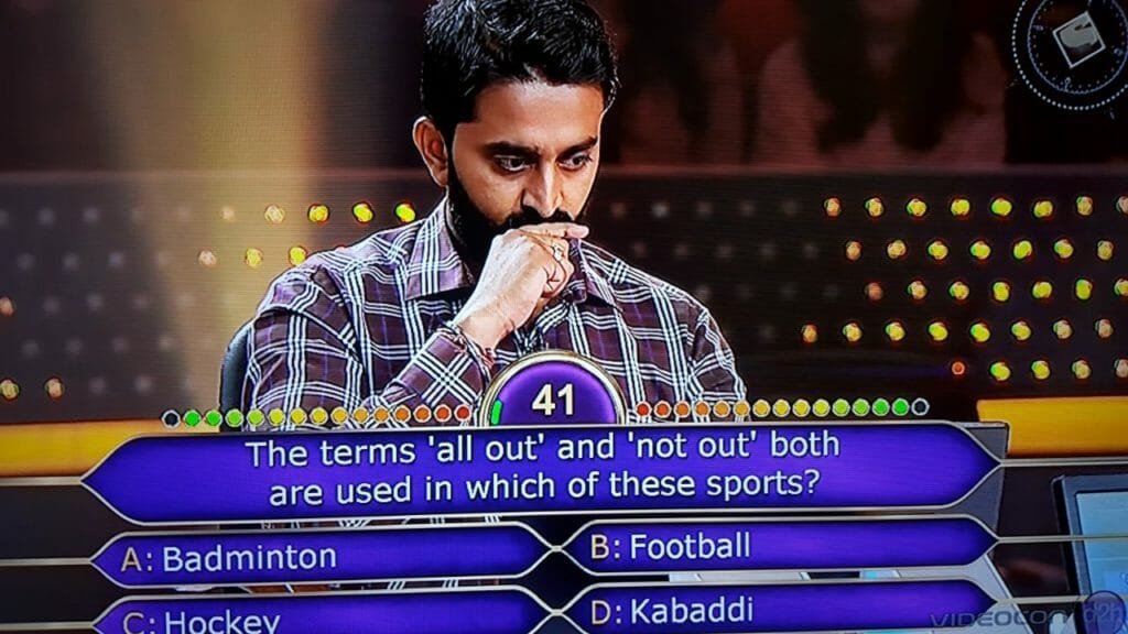 KBC question 5