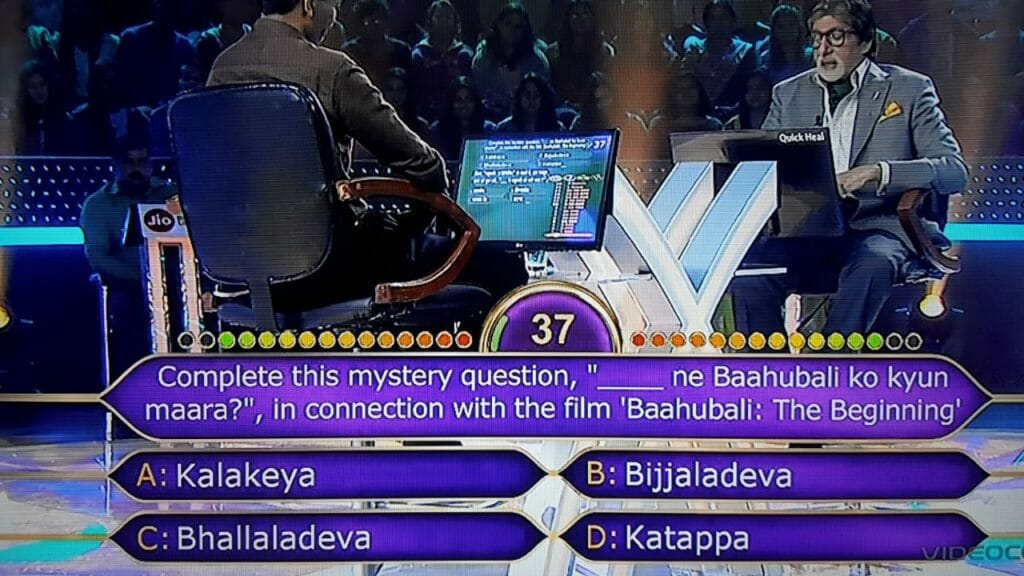 Umesh Kumar Sahu as KBC Contestant on the Hotseat 3
