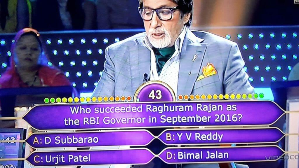 Umesh Kumar Sahu as KBC Contestant on the Hotseat 4