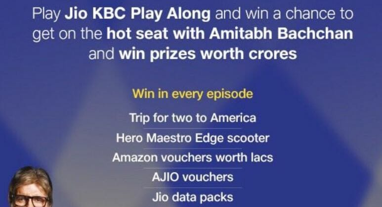 Win a Chance to get on the Hotseat with Amitabh Bachchan with Jio Chat