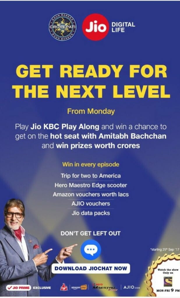 3 Crore people played KBC on their Mobile – Here is the Record