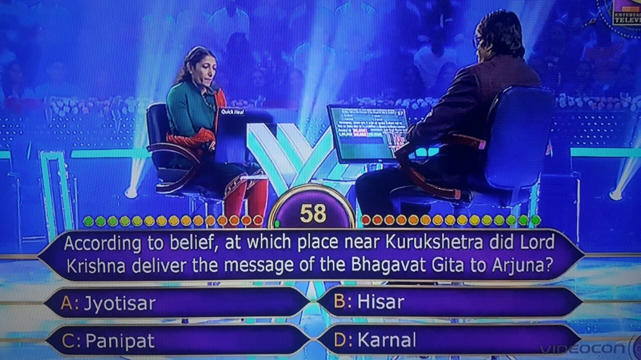 jyotisar kbc question
