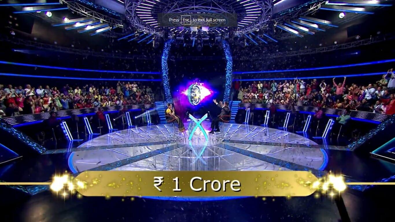 1 crore kbc sony anamika