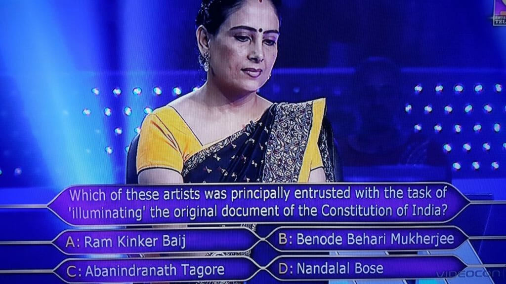 1 crore question Anamika