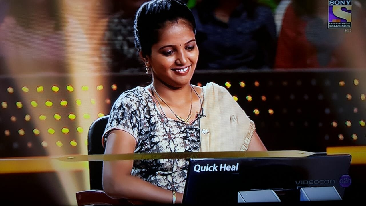Aarti Panwar first contestant of the week on KBC 9th October