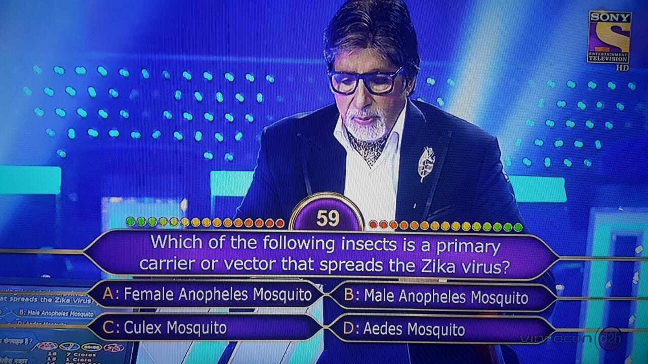 KBC Contestant Dr. Vinay Goyal on the Hotseat 6