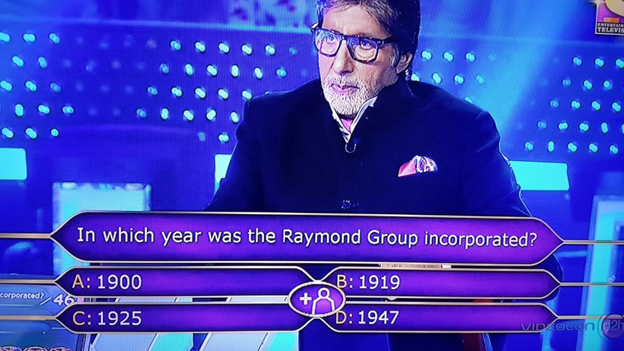 In which year was the Raymond Group was incorporated