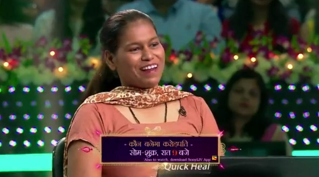 Neha KBC Contestant on the Hotseat Tonight