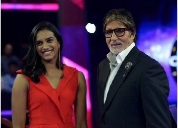 P V Sindhu on KBC Hotseat this friday only on Sony TV