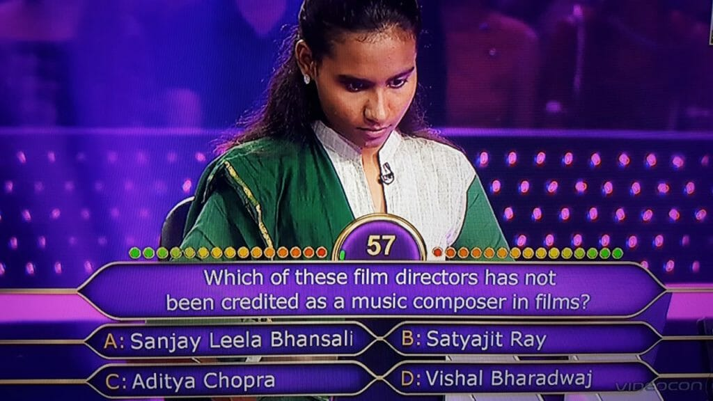 Ques Which of these film directors has not been credited as a music composer in films