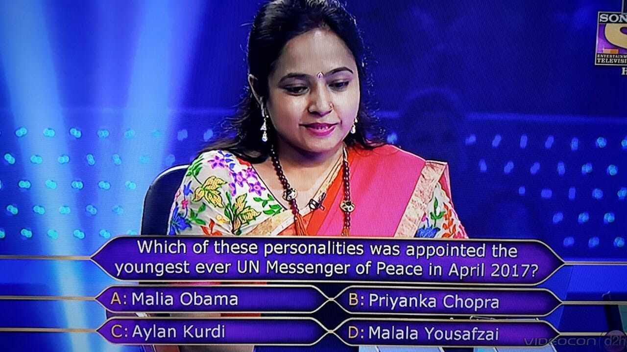 Ques : Which of these personalities was appointed the youngest ever UN Messenger of Peace in April 2017?
