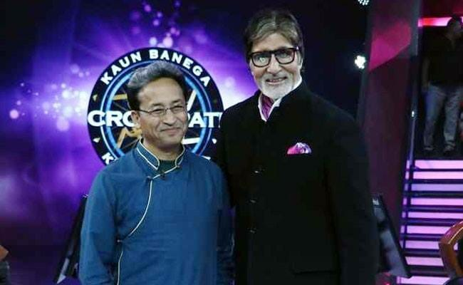 Sonam Wangchuk from Leh inspiring today on the set of KBC