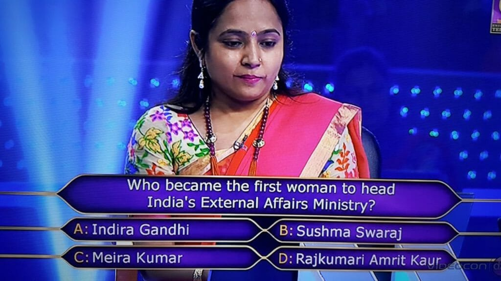 B. Sushma Swaraj