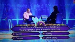What form of literature are Kalidasa's 'Raghuvamsha' and 'Kumarasambhava'?