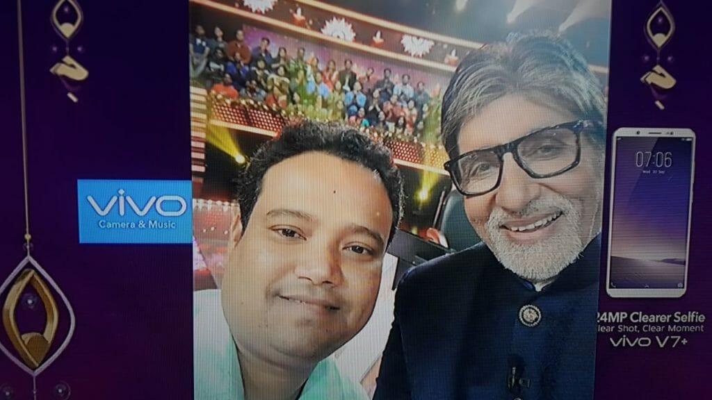 KBC Contestant Sunil Kumar Tandi on the Hotseat