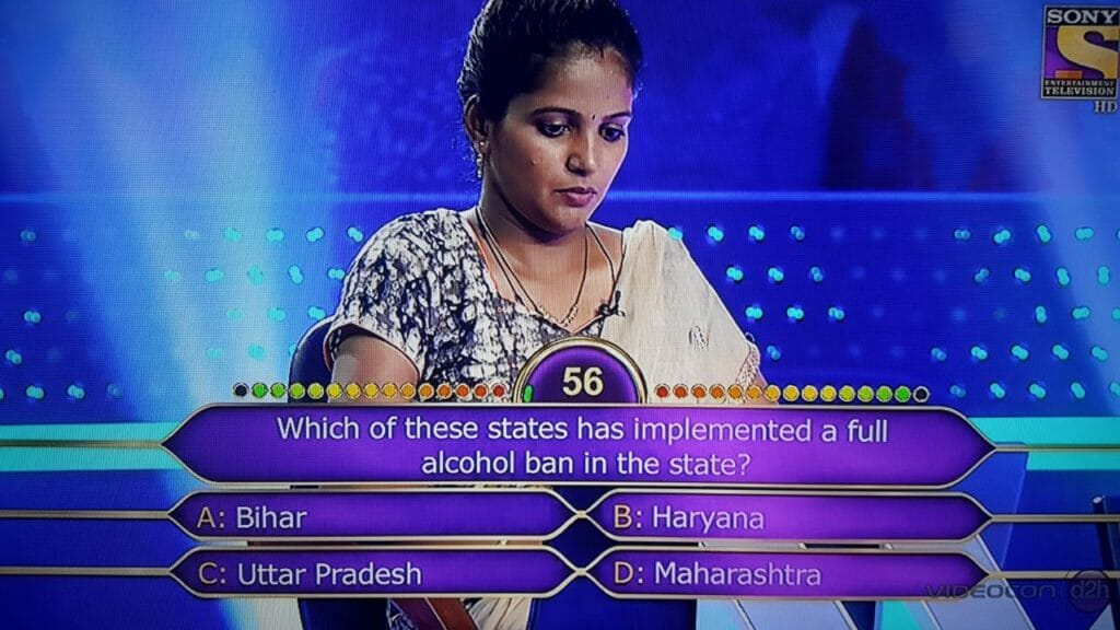 Which of these states has implemented a full alcohol ban in the state?