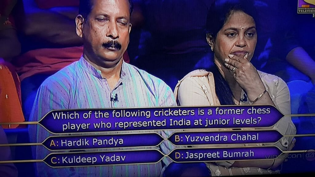 following criketers kbc question