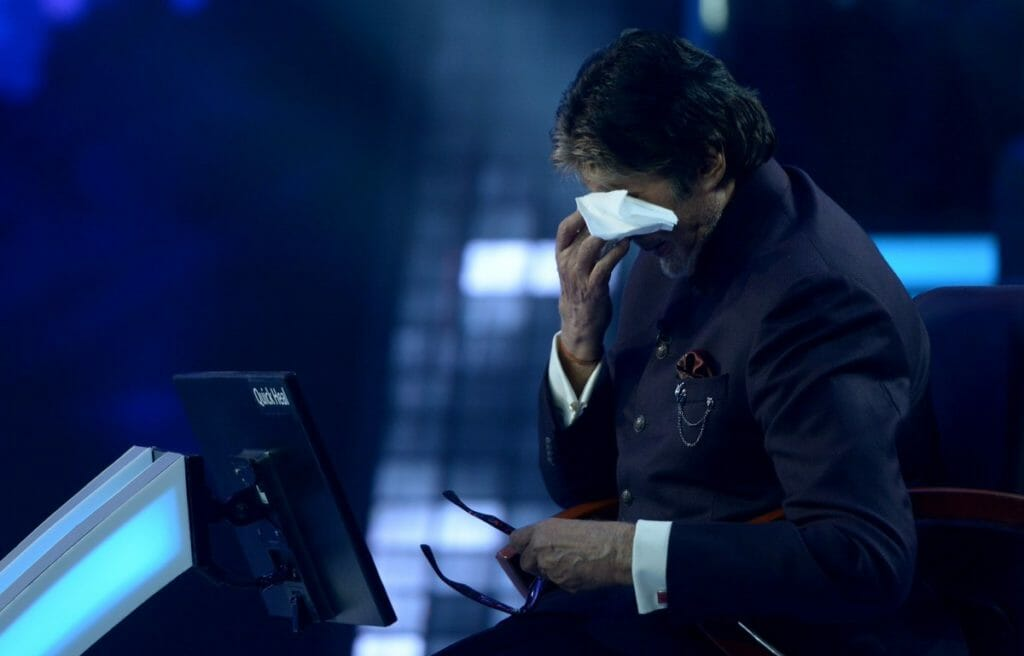 Some Pictures from the set of KBC with Amitabh Bachchan