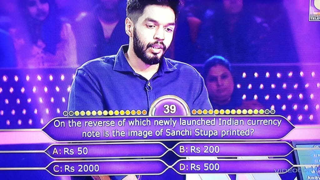 kbc contestant question