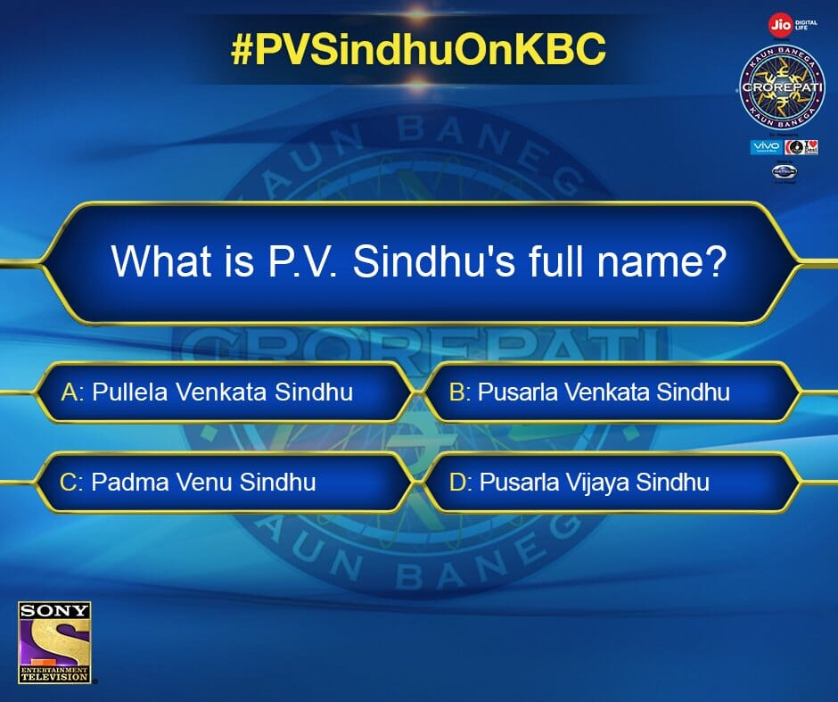 Here is your chance to win some goodies signed by P V Sindhu