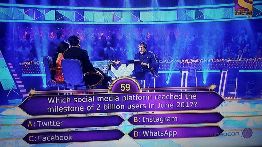 facebook KBC Question