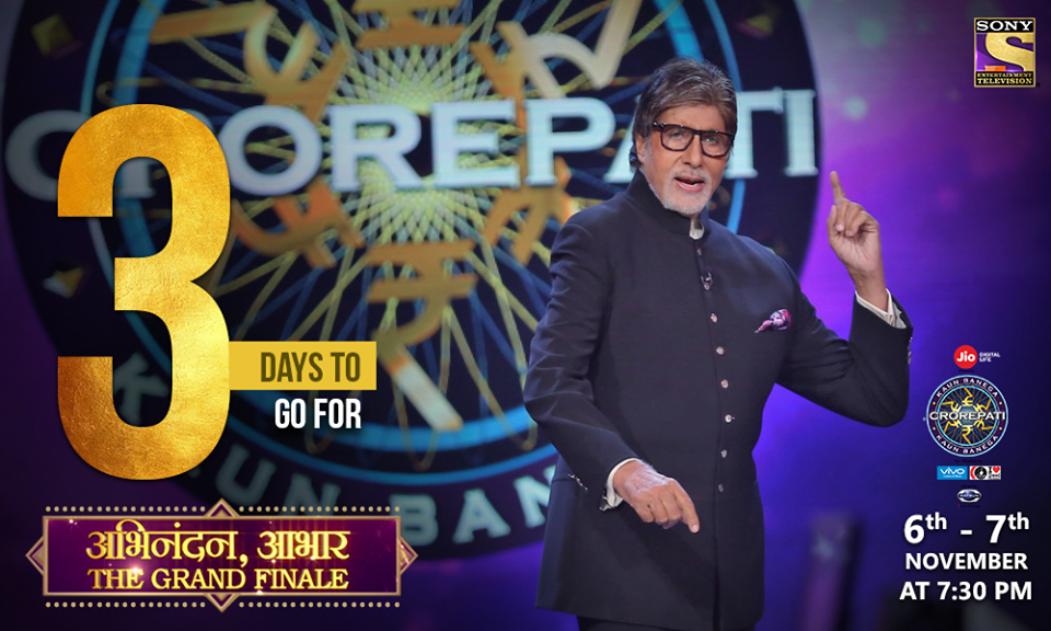 3 Days to go : KBC ka Grand Finale ka jashn