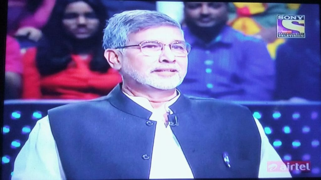 Watch Kailash Satyarthi talk about how he fought Child Abuse, in the Grand Finale of KBC