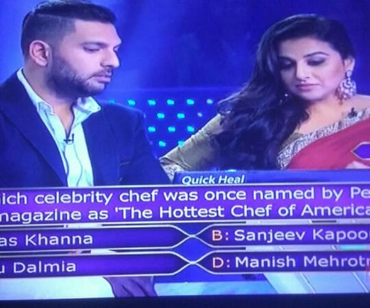 Ques: Which celebrity chef was once named by people magazine as 'The Hottest Chef of America'?