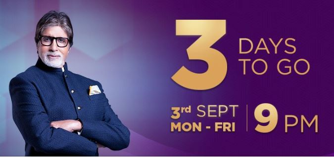 Last 3 Days to go for Exciting KBC Episodes – Watch Video Now