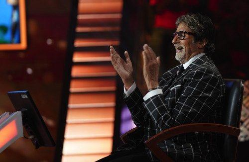 First Day Shooting Amitabh Bachchan at KBC