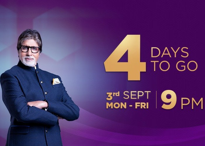 4 Days to go – KBC Starting from Monday at 9 PM on SONY TV
