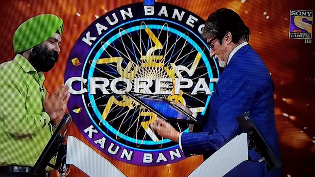 Devendra Singh on KBC Hotseat - Special Gifts from him