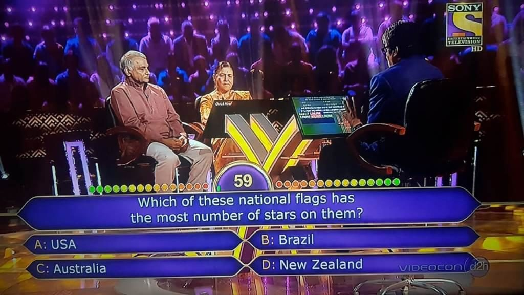 Ques : Which of these national flags has the most number of stars on them?