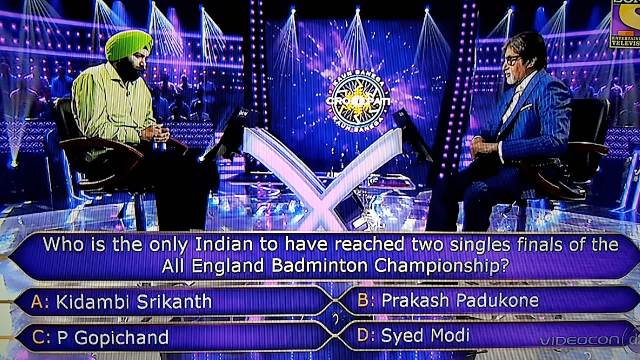 Who is the only Indian to have reached two singles finals of the All England Badminton Championship