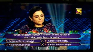 Ques : Which freedom fighter is known as the Father of the Indian petroleum industry?