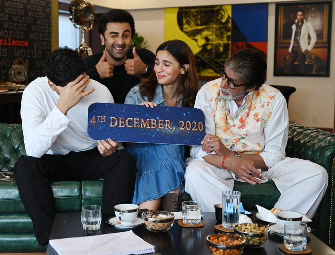 Biggest Bollywood film of 2020 #Brahmastra part 1 is all set to blast the theater on 4 DECEMBER 2020
