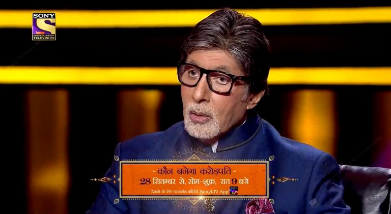 Watch KBC12 from 28th Sept, 9 PM only on Sony TV