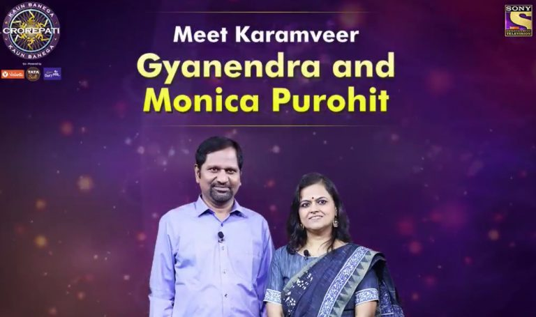 Meet our KBC Karamveer Gyanendra Purohit and Monica Purohit of Anand Service Society