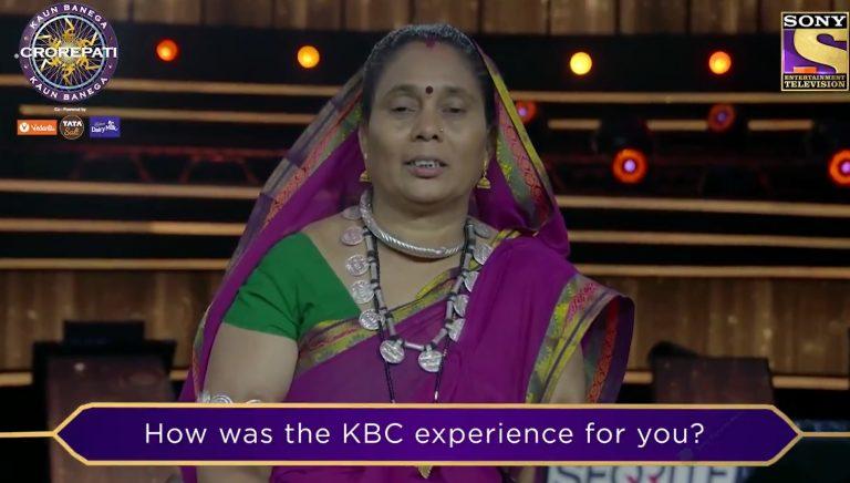 KBC Karamveer Phoolbasan Yadav's story is truly inspirational – Watch her recount her experience in KBC12