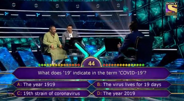 Ques : What does '19' indicate in the term 'COVID-19'?