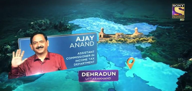 KBC Contestant AJAY ANAND – Watch him on the hotseat, tonight at 9PM only on Sony TV