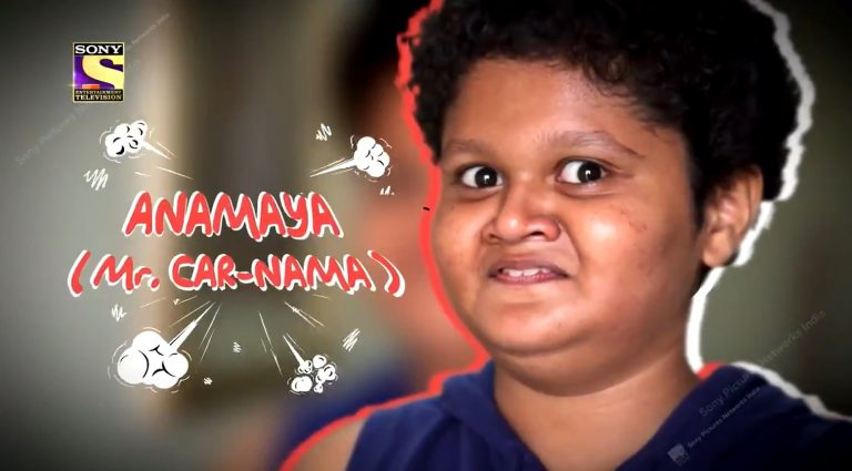 ANAMAYA DIWAKAR or Mr. Carnama – Watch his amazing gameplay in Student Special Week, tonight at 9PM only on Sony TV