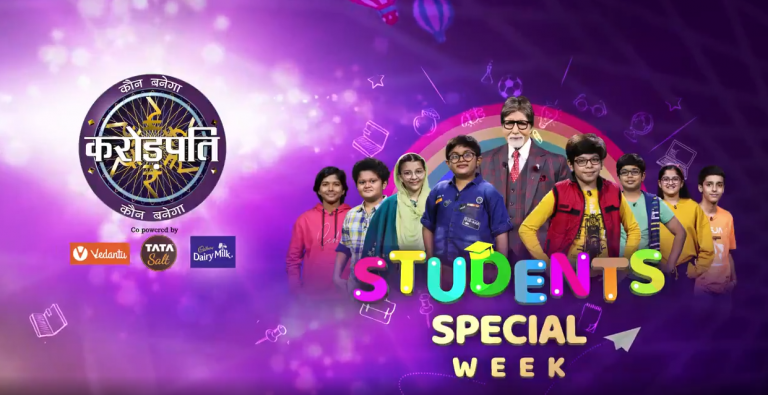 Watch our little genius on the hotseat in the Students Special Week 14th to 17th Dec at 9 PM