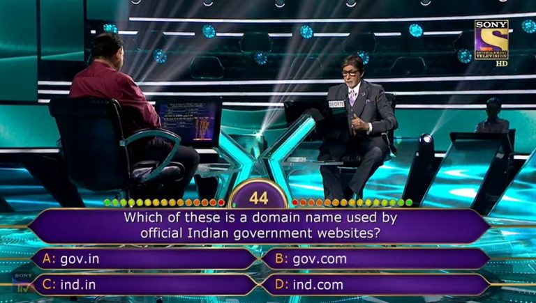 Ques : Which of these is a domain name used by official Indian government websites?