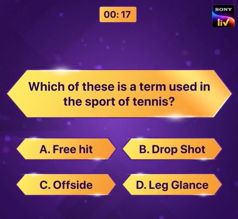 Practise to gear up for the big game today! Participate in KBC Play Along