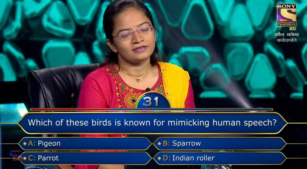 Ques : Which of these birds is known for mimicking human speech?