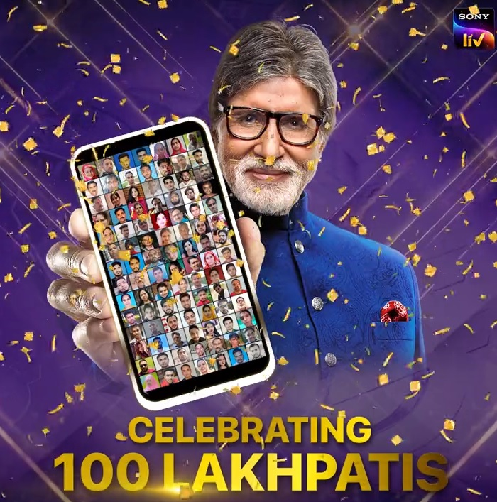 Here's celebrating 100 Lakhpatis of #KBCPlayAlongGold.  Keep playing and you can be one too!