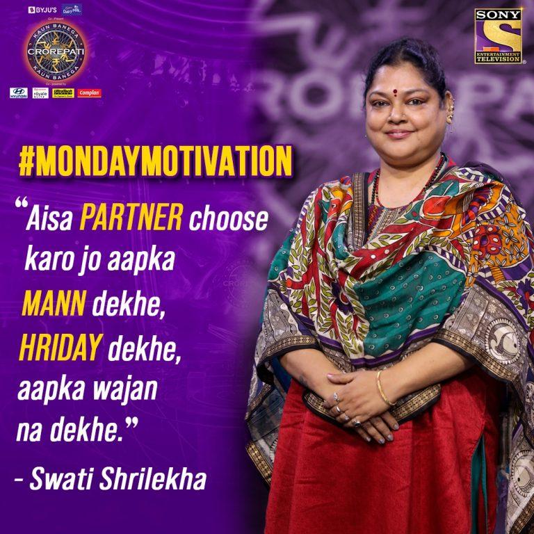 Monday Motivation with Kaun Banega Crorepati – Read now